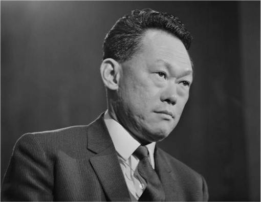 Lee Kuan Yew in Suits