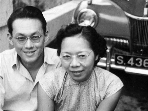 Lee Kuan Yew with Wife