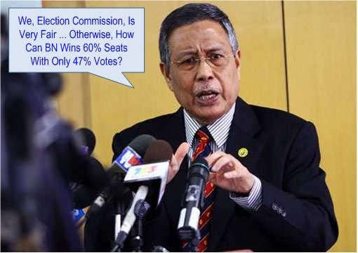 Malaysia Election Commission - Explains Gerrymandering Fairness