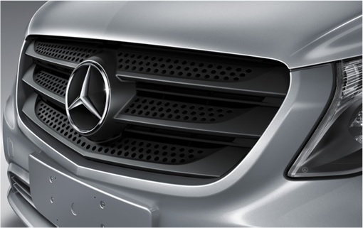 Mercedex Benz New Pickup Truck 2015 2020 - front grill