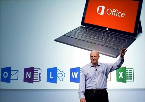Office 2016 Launching - Ballmer