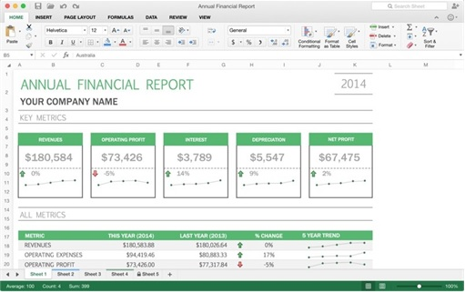 Office 2016 for Mac Machines - Excel