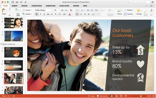 Office 2016 for Mac Machines - PowerPoint