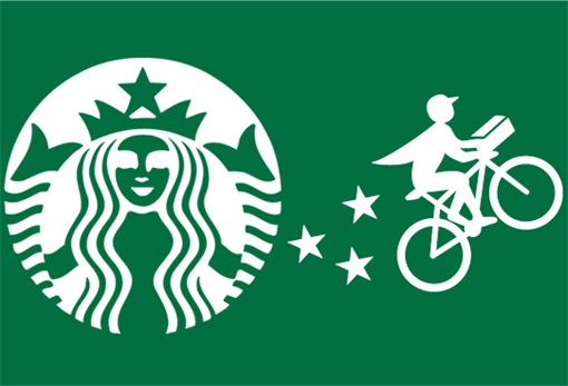 Starbucks Delivery Logo