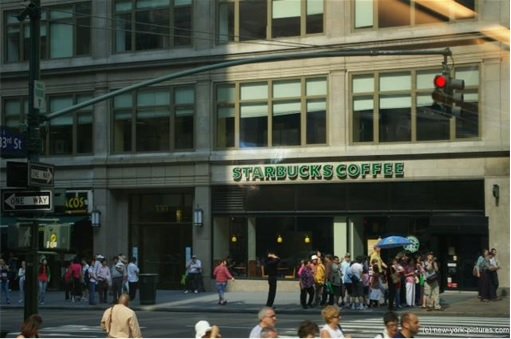 Starbucks at New York Empire States Building