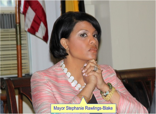 Baltimore Riots - Mayor Stephanie Rawlings-Blake