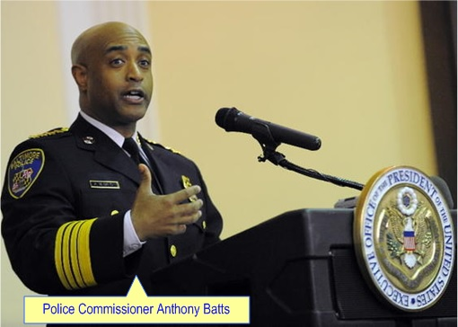 Baltimore Riots - Police Commissioner Anthony Batts