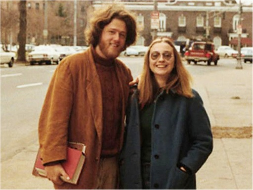 Bill Clinton and Hillary Clinton - School