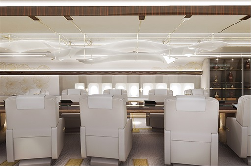 Boeing 747-8 Private Jet - Conference Room 2