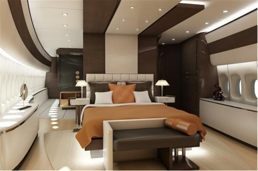 Boeing 747-8 Private Jet - Main Stateroom 3