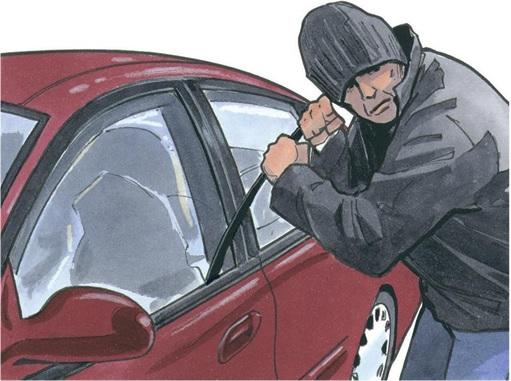 Car Theft - Illustration