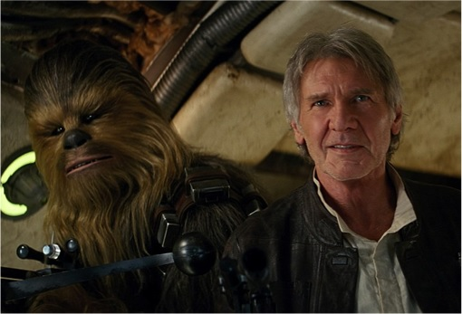 Han Solo and Chewbacca - 2015