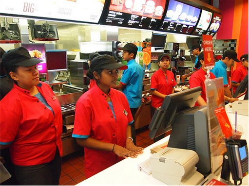 McDonald's Workers - At Counters