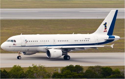 Najib Razak Private Jet