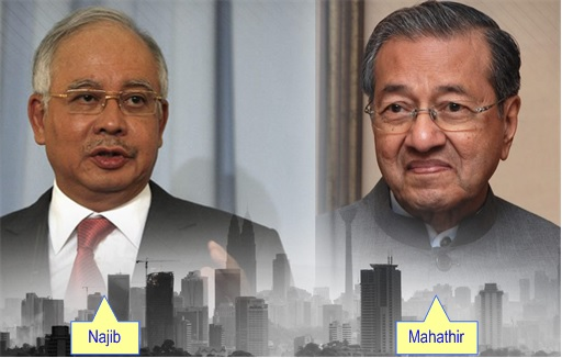Najib vs Mahathir - War