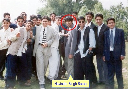 Navinder Singh Sarao  - with School Mates