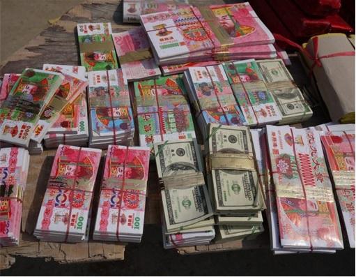 Qingming Festival - Hell Money