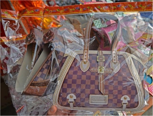 Qingming Festival - Paper LV Bag