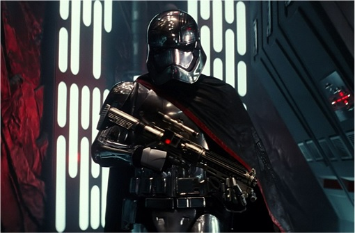 Star Wars The Force Awakens - New Villain in Black Stormtroopers Armour