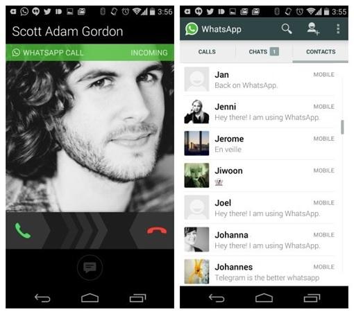 WhatsApp Voice Calls Feature