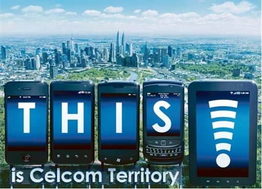 Celcom - This is Celcom Territory