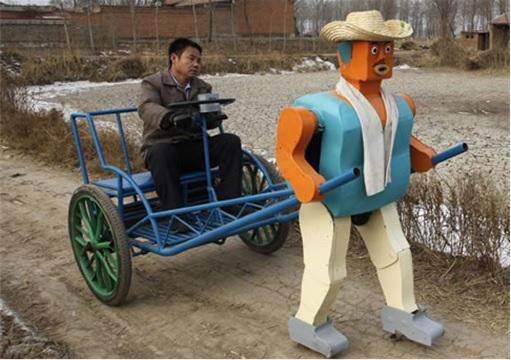 China Inventions - Robot Rickshaw