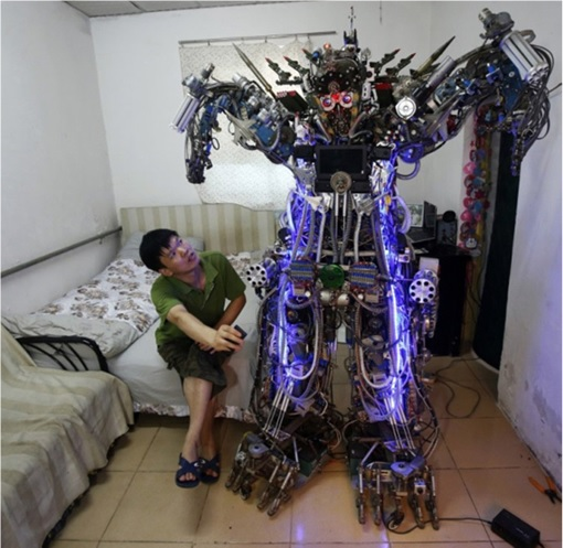 China Inventions - Transformer Robot