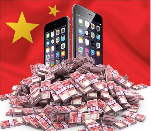 China Yuan Cash for iPhone