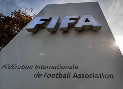 FIFA Corruption Scandal - Office Logo Signboard
