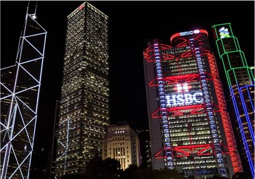 HSBC HongKong and Shanghai Banking Corporation - Hong Kong Modern Day