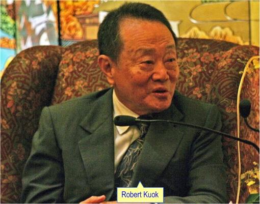 Najib Razak Cronies - Robert Kuok