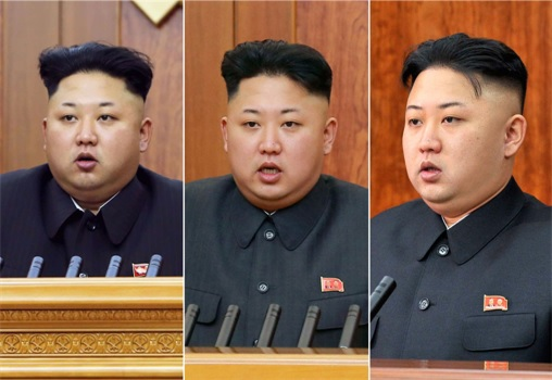 North Korean Kim Jong-Un - Many Faces