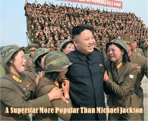 North Korean Kim Jong-Un - Superstar with Women
