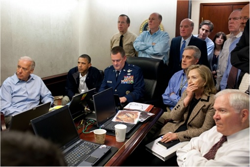 Osama bin Laden Killing - White House Operation Room