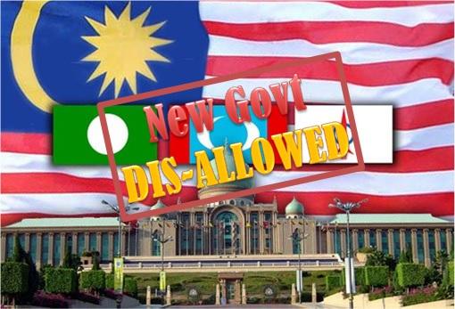 Pakatan Rakyat To Form New Government - Disallowed