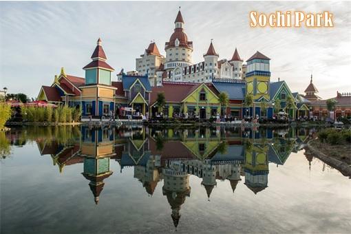 Russia Moscow Disneyland - Sochi Park Hotel