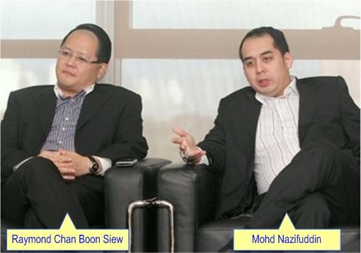 UFUN Ponzi Scheme - Nazifuddin Najib Razak,  Raymond Chan Boon Siew