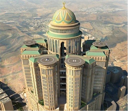 World S Gest Hotel Mecca Abraj Kudai Four Helipads