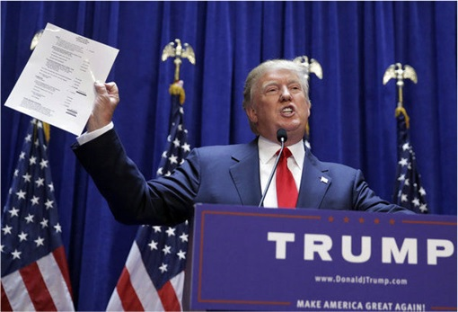 Donald Trump Presidency - Declaring Net Worth