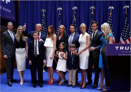 Donald Trump Presidency - Family Photo Session