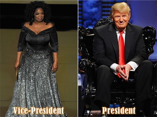 Donald Trump Presidency - Vice President Oprah Winfrey