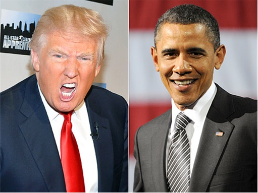 Donald Trump vs Barack Obama