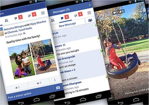 Facebook Lite Launching - 3 Screenshots