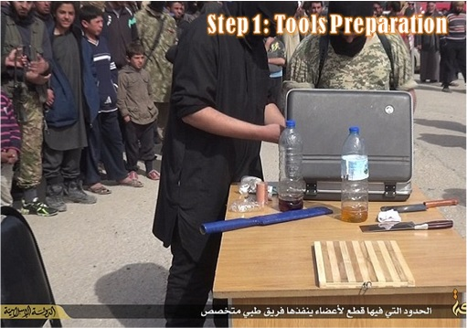 ISIS Hacking and Chops Off Hand - Step 1 - Tools Preparation