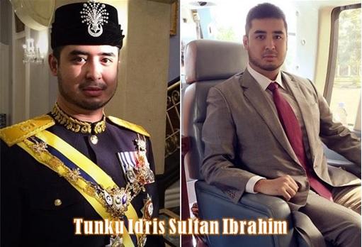 Johor Tunku Idris Sultan Ibrahim