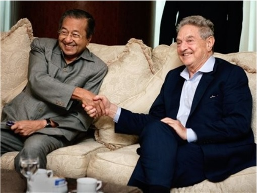 Mahathir Mohamad Meets George Soros - 1997 Asia Financial Crisis