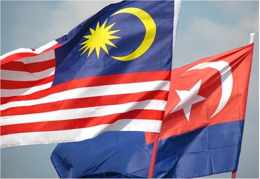 Malaysia and Johor Flags