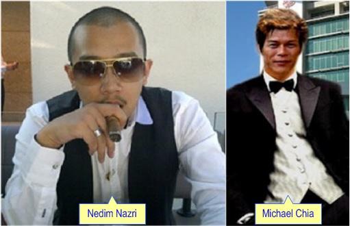 Mohamad Nedim Nazri and Michael Chia Tien Foh