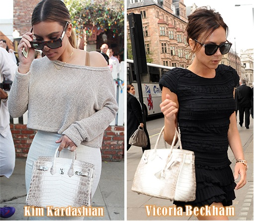 Most Expensive Hermès Birkin Bag - Himalayan Crocodile Birkin - Kim Kardashian and Victoria Beckham