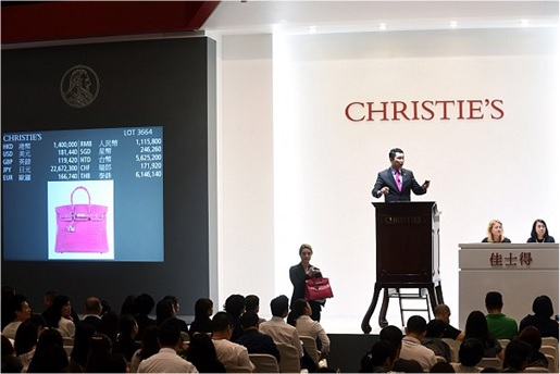 Most Expensive Hermès Birkin Bag Sold at Auction - Pink Crocodile Birkin US$221000 - Christie Auction